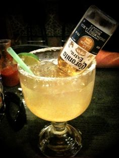 BEST EVER BEER MARGARITA!!! (makes 6)-  1 (12 fluid ounce) can frozen limeade concentrate,  12 fluid ounces tequila,  12 fluid ounces water,  12 fluid ounces light beer like corona  or bud light lime,   ice,  1 lime, cut into wedges.  Directions:  Pour limeade, tequila, water, and beer into a large pitcher. Stir until well-blended, and limeade has melted. Add plenty of ice, and garnish with lime wedges.