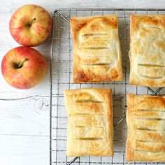 Save yourself a trip to the bakery and make these scrumptious 3-Ingredient Apple Danishes.