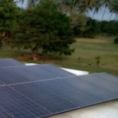 Harvesting the energy from the sun in Isabela, PR