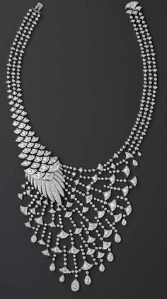 Cartier Platinum and Diamond Necklace, I Love Jewelry, Bling Jewelry, Jewelery, Jewelry Accessories, Jewelry Necklaces, Jewelry Design, Diamond Necklaces, Diamond Jewellery, Silver Jewelry
