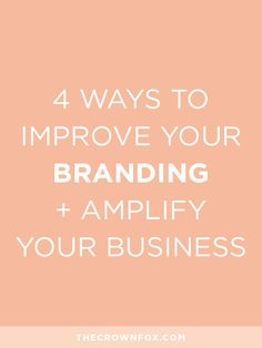 Creating a cohesive brand is a lot easier said than done, but these tips from The Crown Fox will make it that much less daunting, trust me! Click on through to read why you need a recognizable and memorable brand + how to build one!