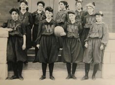 University of Wyoming Women's Basketball Team  From the Collections of American Heritage Center, University of Wyoming, Copy and Reuse Restrictions Apply
