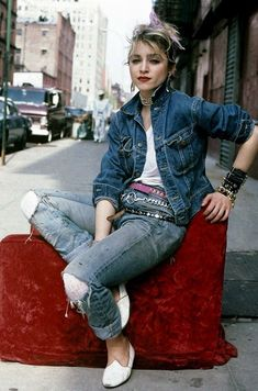 Inspiration: Madonna in 1980's Lower East Side | Blog Faves
