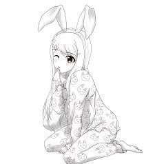 Image Result For No Color Anime Drawings