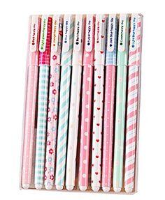 jungen pinceaux stylo-bille différentes couleurs crayons pastel 10