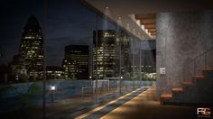 Architectural Visualisation by Rodri Garcia, via Behance