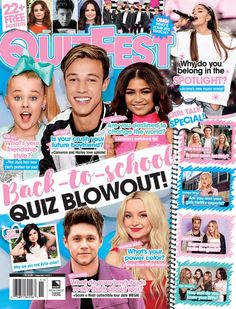 QuizFest. QuizFest is published quarterly and is devoted to helping readers find out more about themselves by answering personality-based questions. QuizFest readers look at the magazine as an extension of their diary-- a place where they can answer questions honestly and get in touch with who they are as a person. Each issue is packed with quizzes on love, friendship, family, celebrities, fashion, beauty, and more!.