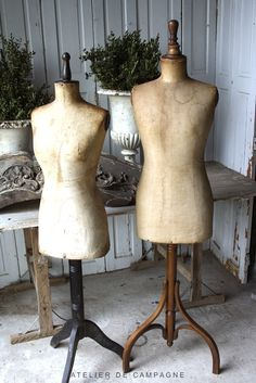 1940's French manequins - Atelier de Campagne