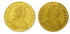 Zriedkavé numizmaty z čias Márie Terézie uvidíte na unikátnej výstave na Bratislavskom hrade! - pokladnica-minci.sk K Om, Coins, Personalized Items, Islands, Coining