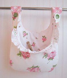 clothespin bags   so cute...little clothespin bag!!