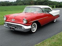 1957 Oldsmobile Ninety-Eight Holiday Coupe A great cruising car during the high school days!!