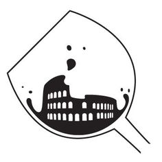 However, after looking back at it, I decided to rework it into a logo for an existing wine tasting bar that is located a few miles from the Colosseum.