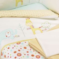 Lollipop Lane Tiddly Wink Safari 5 Piece Bedding Bale Kiddicare.com