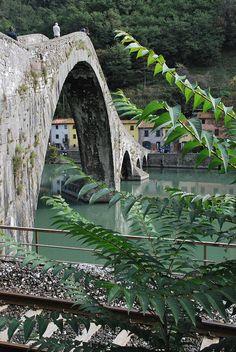 Ponte del diavolo - Garfagnana, Lucca, Tuscany, Italy