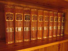 W. Rein, W. (Hrsg.): Encyklopädisches Handbuch der Pädagogik, 12 Bände, Jugendstil-Ausgabe in Halbleder. Langensalza, Hermann Beyer & Söhne (Beyer & Mann), 1903 - 1910.