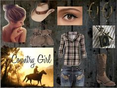 """""""country girl"""" by generation08 on Polyvore"""