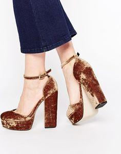 Zapatos de plataforma PENDULUM de ASOS