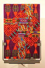 "Damning Rivers by Jim Vollmer (Art Glass Wall Art) (12.5"" x 7.75"")"