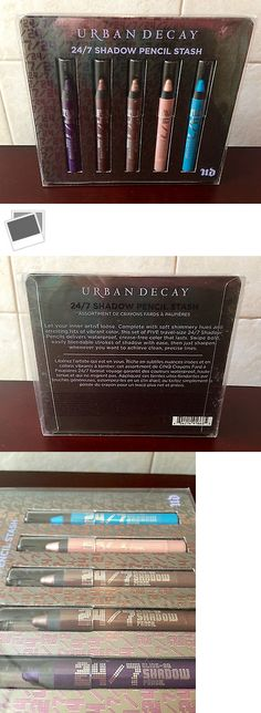 Eye Shadow Liner Combination: Nib New Urban Decay 24/7 Eye Shadow Pencil Stash Set Of 5 Liner Shimmer Sephora BUY IT NOW ONLY: $36.99