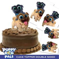 Puppy Dog Pals Cake Topper/ Double Sided/ Printable/ Puppy Dog