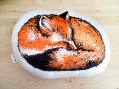 This cozy throw pillow. | 21 Adorable Fox Products You Need In Your Life