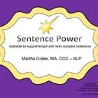 This product provides the visual support and structure to help children build longer and more complex sentences.