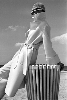 Photographer - Brian Duffy - Fabulous coat!