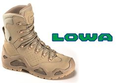 LOWA Z-6 & Z-8 Tactical Boots