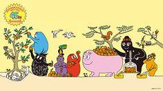 バーバパパ | BARBAPAPA | PLAZA | プラザ Cartoon Characters, Fictional Characters, Cotton Candy, Childhood Memories, Childrens Books, Coloring Pages, Peanuts Comics, Daddy, Anime