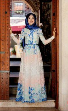 Gamze Polat Dress Blue Price 100 Dolars Whatsapp 05533302701 #modaufku #modaufkuhijab #tesettür #hijab #hijabfashion #islamic #hijabi #hijaber #dress #abaya #elbise #abiye #pudra #annahar #pınarsems #gamzepolat