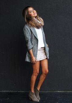 Skirt + Jacket | Sincerely, Jules