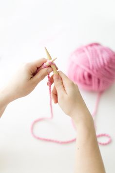 How-to knit