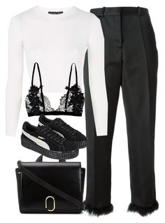 """""""Untitled #1575"""" by sophiasstyle ❤ liked on Polyvore featuring Simone Rocha, Topshop and 3.1 Phillip Lim"""