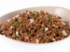 Farro Risotto - super hearty meal, great flavors, and healthy too. @Eugenia Bazigos