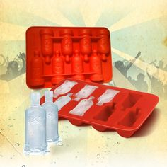 Vodka Bottle Ice Tray, £5