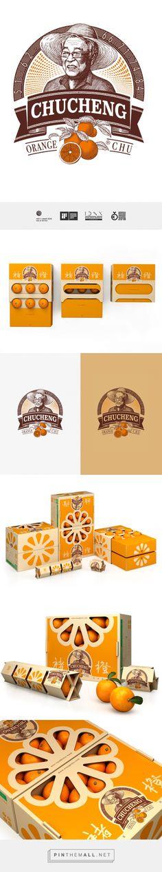Chu's Orange packaging design by Tigerpan - http://www.packagingoftheworld.com/2017/08/chus-orange.html