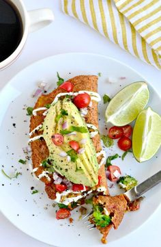 Breakfast just got EASY and tasty with this simple to make Chickpea Omelet for…