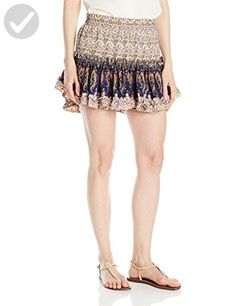 Tbags Los Angeles Women's Marion Skirt-Ad1, French Floral, M - All about women (*Amazon Partner-Link)