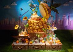 """FORTNUM&MASON,London, UK, """"Wonderful,It's a perfect day for a picnic, don't you think?"""", pinned by Ton van der Veer"""
