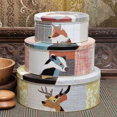Beasties tins - I really rather like these.