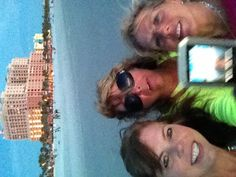 Enjoying an evening walk on Clearwater after shopping! 2013 May