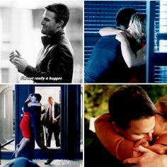 Oliver *I Only hug Felicity Smoak* Queen #Olicity <3