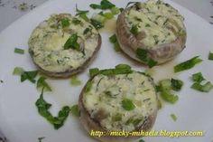 Ciuperci umplute cu branza de vaci, Rețetă Petitchef Romanian Food, Soul Food, Bon Appetit, Baked Potato, Potato Salad, Food To Make, Cooking, Ethnic Recipes, Food