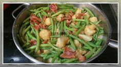 BEST SOUTHERN STYLE GREEN BEANS AND POTATOES-  HOW TO MAKE GREEN BEANS A...