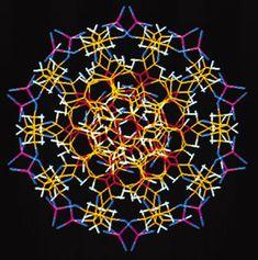 Coupe transversale d'une molécule d'ADN