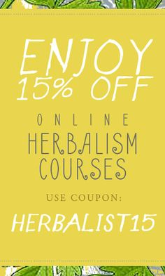96 best herbal academy coupons our favorites images on pinterest 15 off online herbalist training programs fandeluxe Images