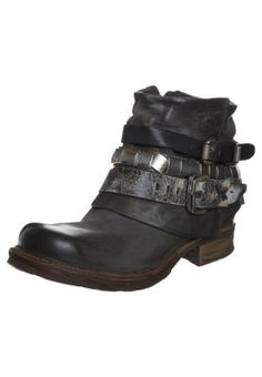 SAINTMETAL - Cowboy- / bikerstøvlette - grå
