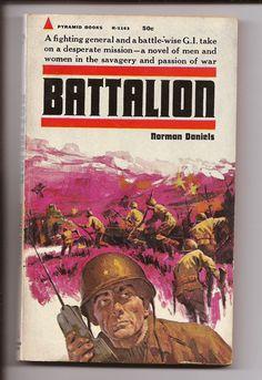 Pyramid Norman Daniels Battalion 1st Ed 1969 by PurkeysPaperbacks, $4.00
