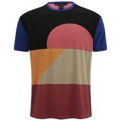 Marc by Marc Jacobs Men's Colour Blocked T-Shirt.
