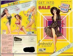 Fredricks of Hollywood catalog from 1981